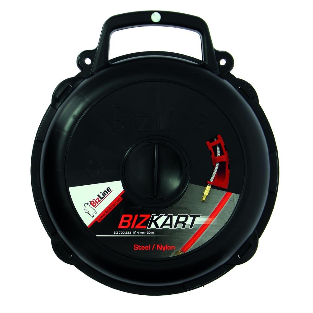 Bizline - BIZ700233 -  Aiguille acier-nylon Ø 4 mm 20 m avec carter BIZKART