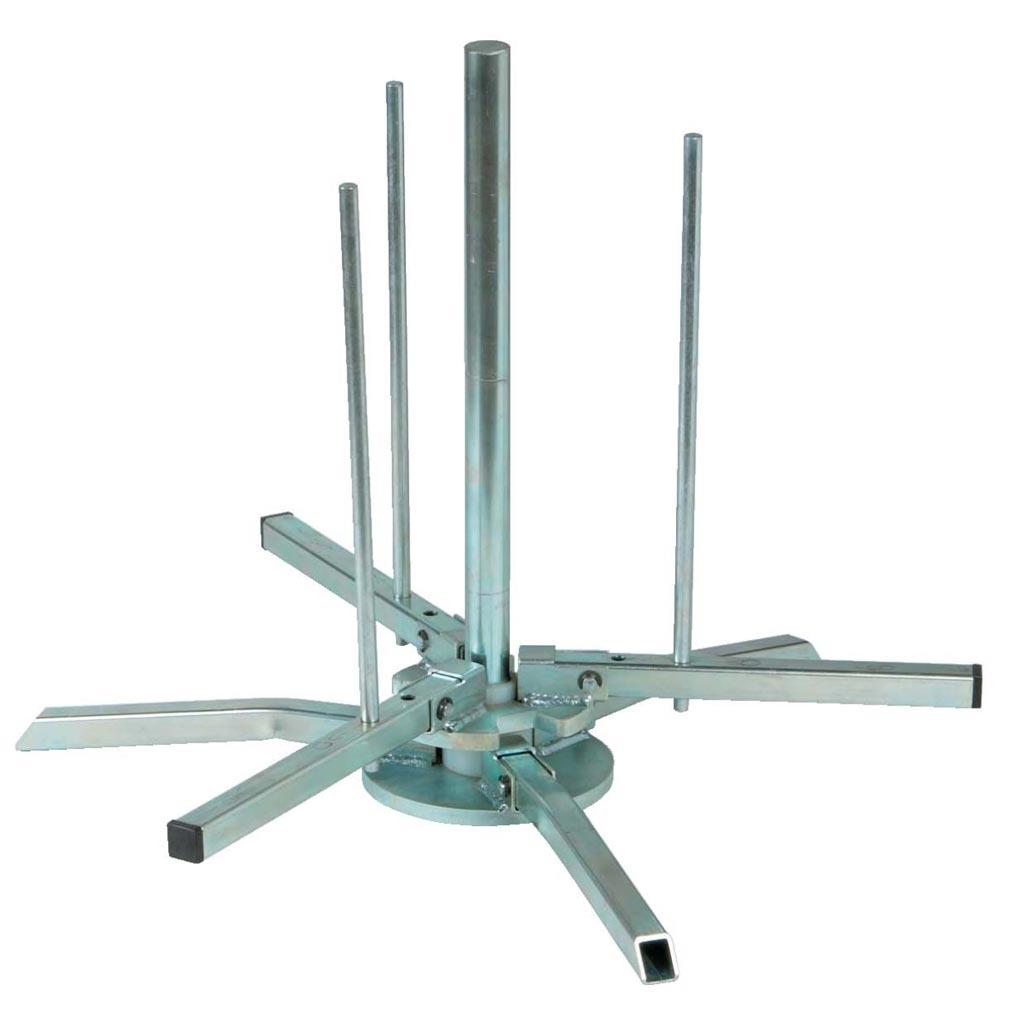 Bizline - BIZ700282 -  Dérouleur de couronnes de câble et de gaine BIZ'ROLL maximum 80 kg
