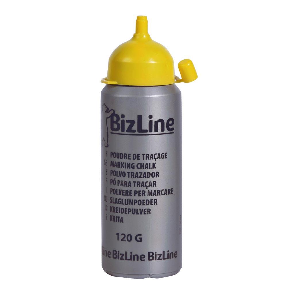 Bizline - BIZ700295 -  Poudre de chantier jaune 120 g