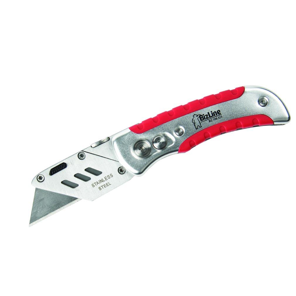 Bizline - BIZ700323 -  Cutter utilitaire pliant