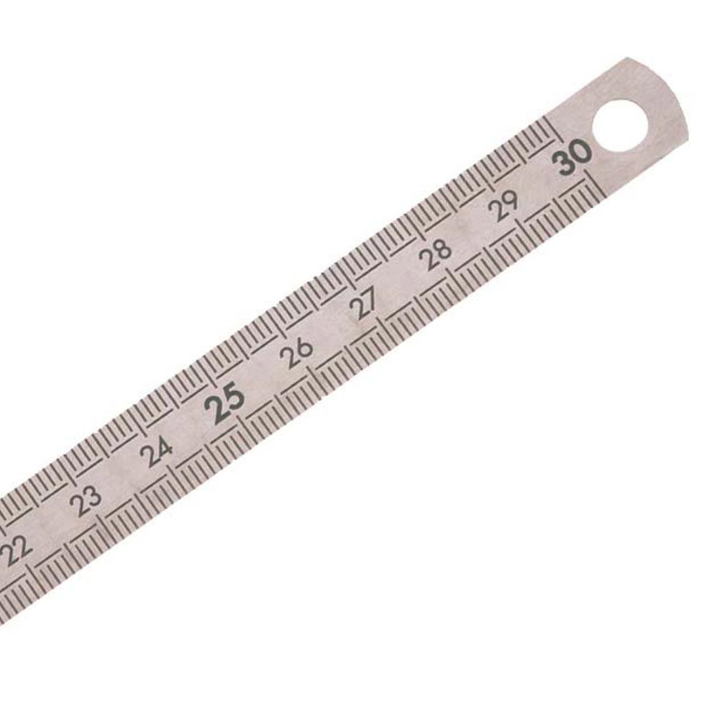 Bizline - BIZ700505 -  Réglet inox 30 cm