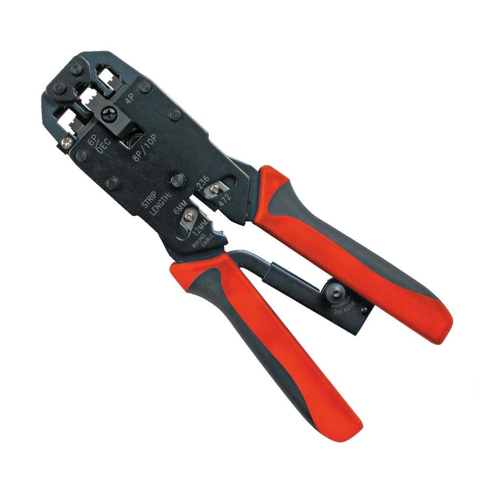 Bizline - BIZ700587 -  Pince à sertir les connecteurs RJ45, RJ11 et RJ12