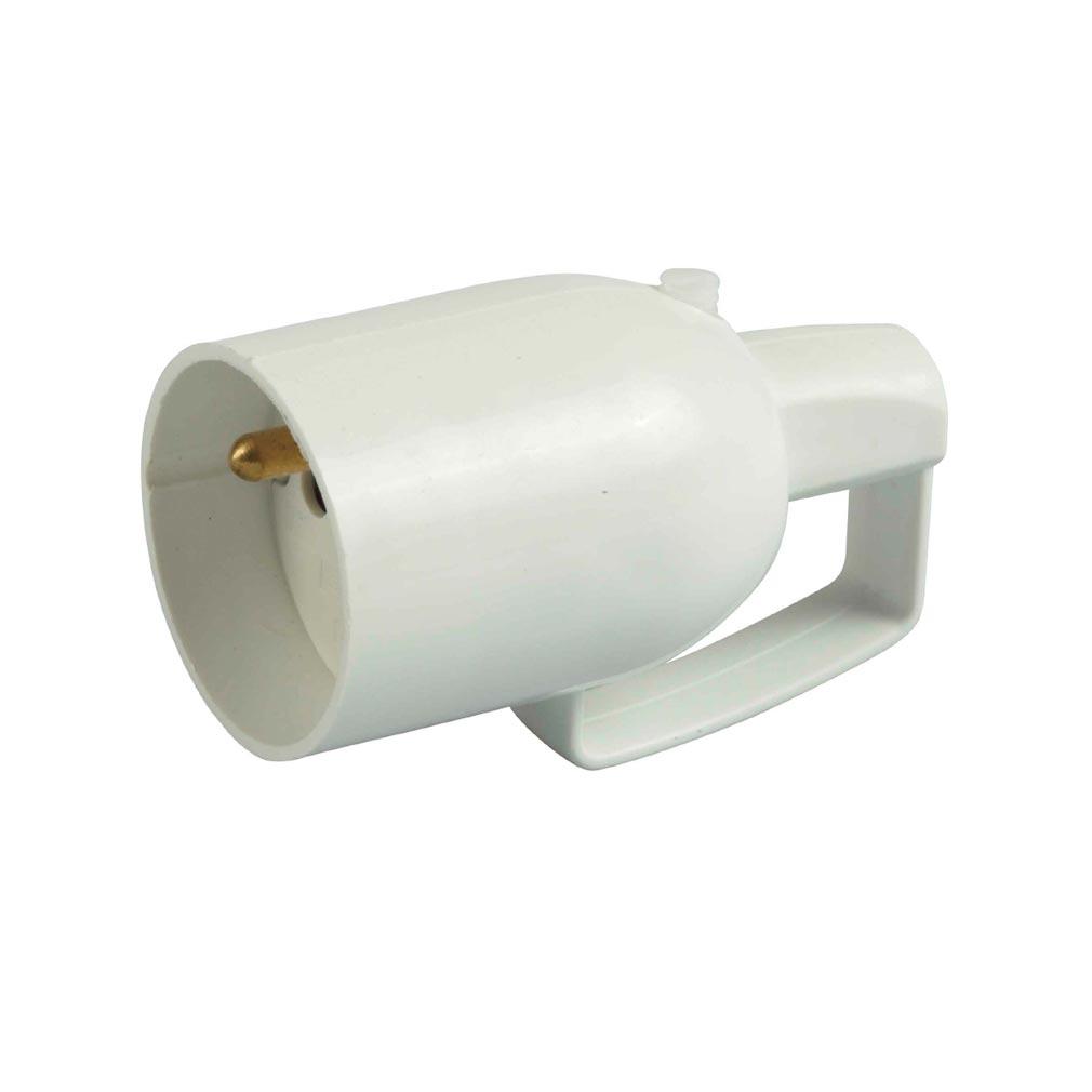 Bizline - BIZ700941 -  Prolongateur plastique 16 A 2P + T à anneau