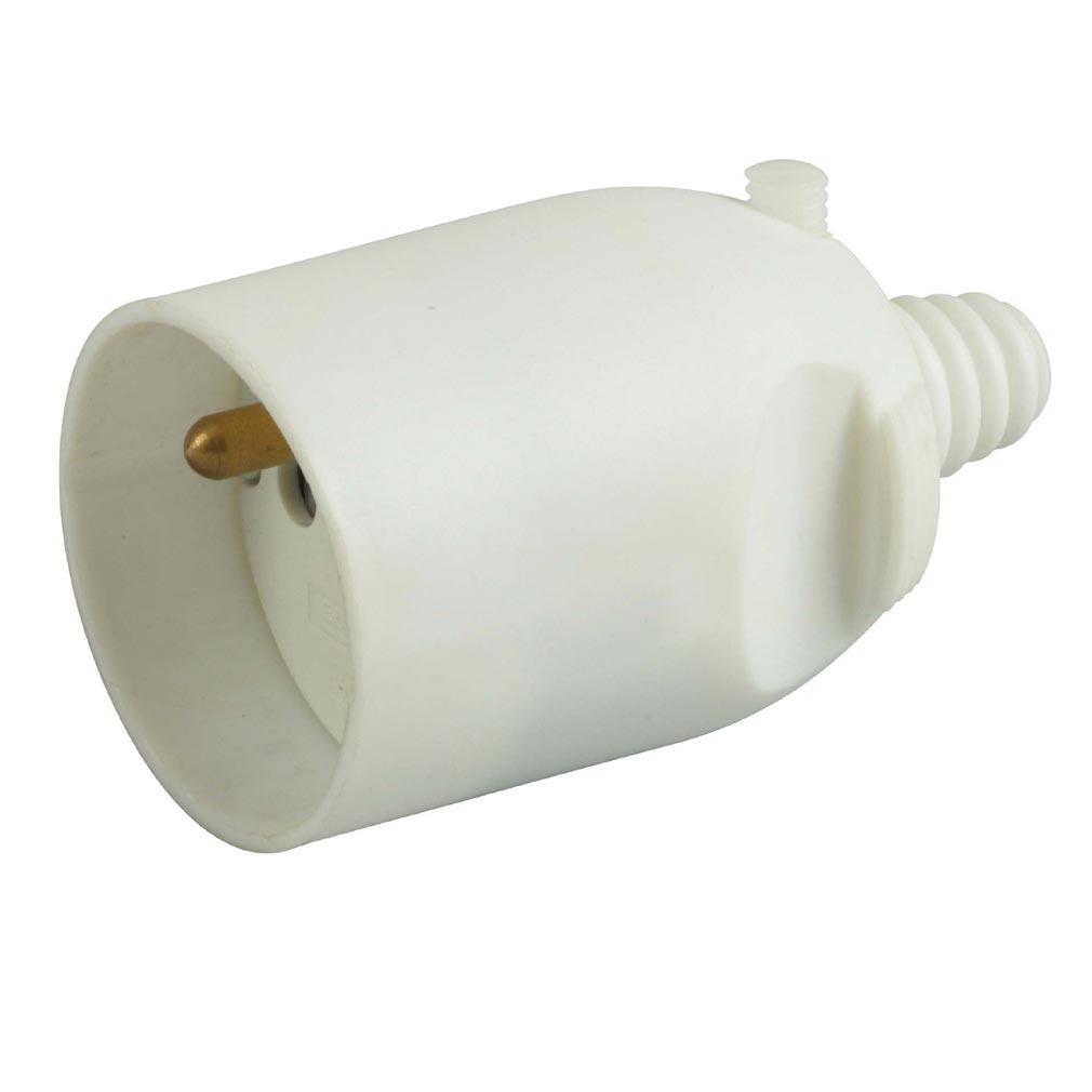 Bizline - BIZ700944 -  Prolongateur plastique 16 A 2P + T sortie droite