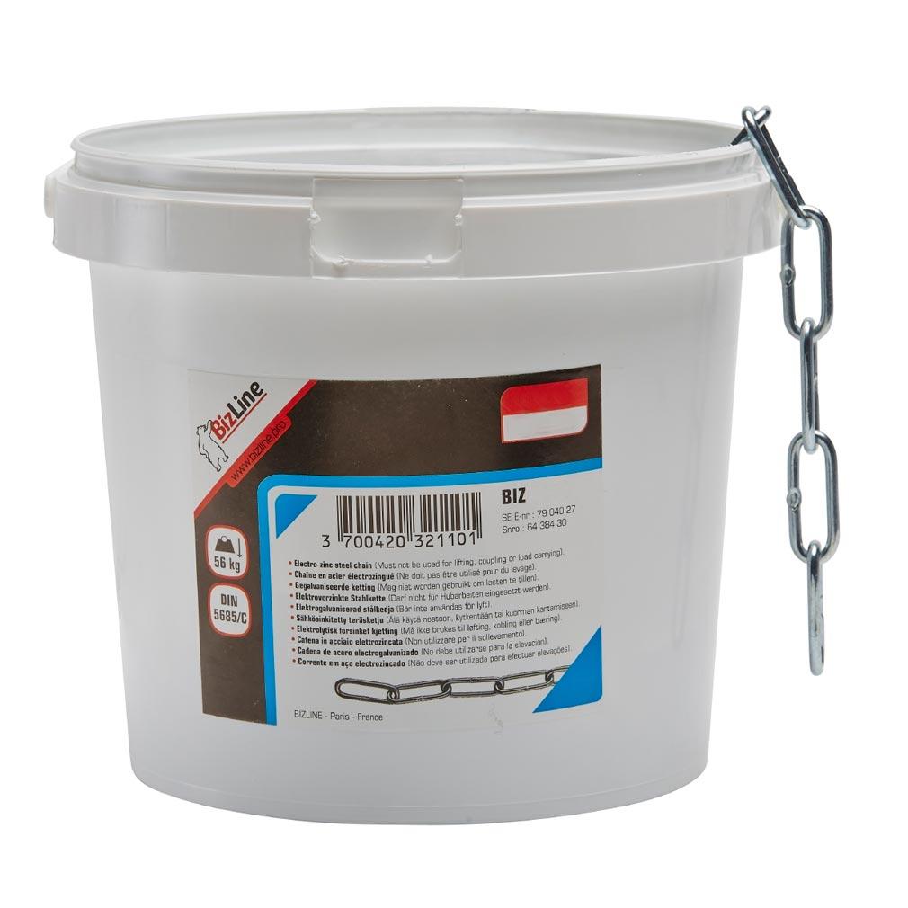 Bizline - BIZ710172 -  Chaînette acier D= 3 mm x 25 m
