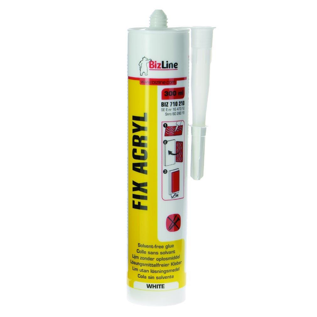 Bizline - BIZ710210 -  Colle acrylique 300 ml blanche