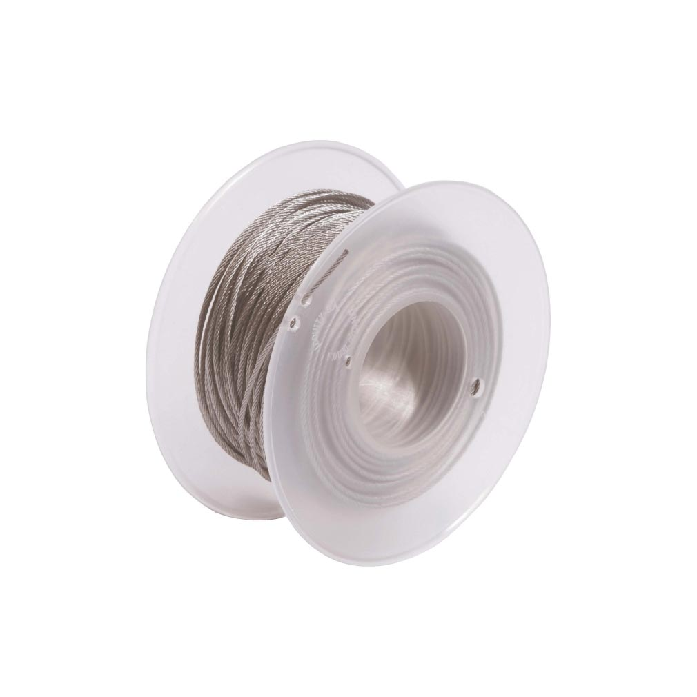Bizline - BIZ710353 -  Bobine de câblette acier 2.5 mm x 150 m