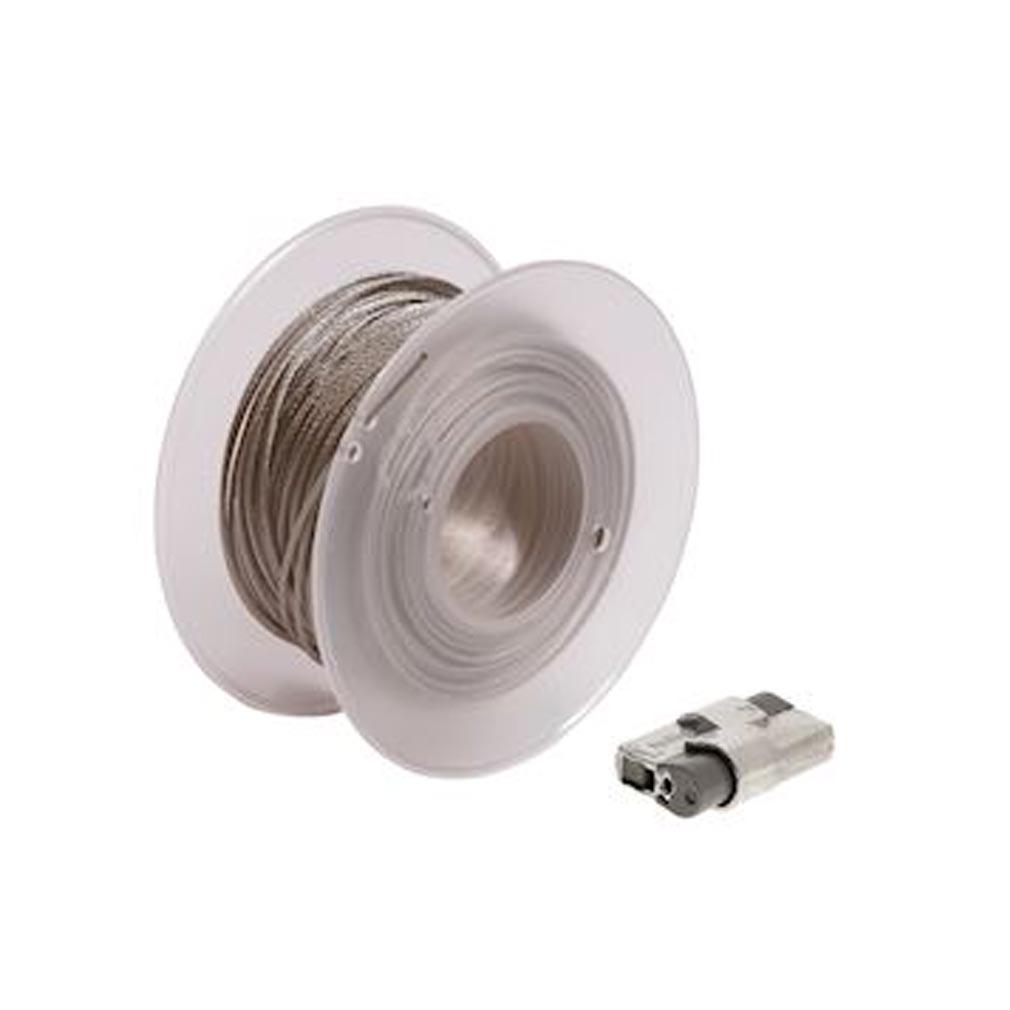 Bizline - BIZ710409 - BIZLINE 710409 - Kit de suspension câblette Ø 1.5 x 150 m et 100 verrous