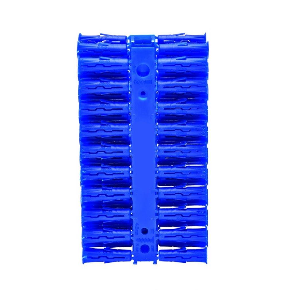 Bizline - BIZ710653 -  Cheville universelle UNIK 8 x 32 mm bleue Ø vis 4.5-6 mm (x 80)