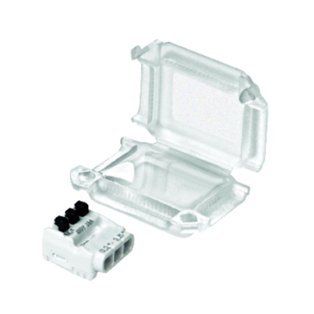Bizline - BIZ711401 -  Kit Squale'Box S3 connexion étanche 1 borne 3 entrées et câble 0.2-2.5 mm² (x10)