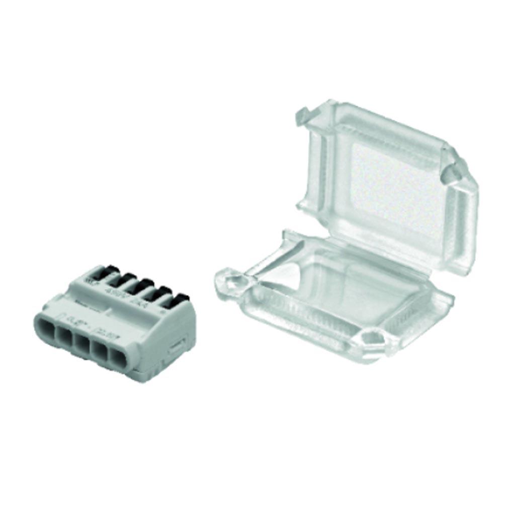 Bizline - BIZ711402 -  Kit Squale'Box S5 connexion étanche 1 borne 5 entrées et câble 0.2-2.5 mm² (x10)