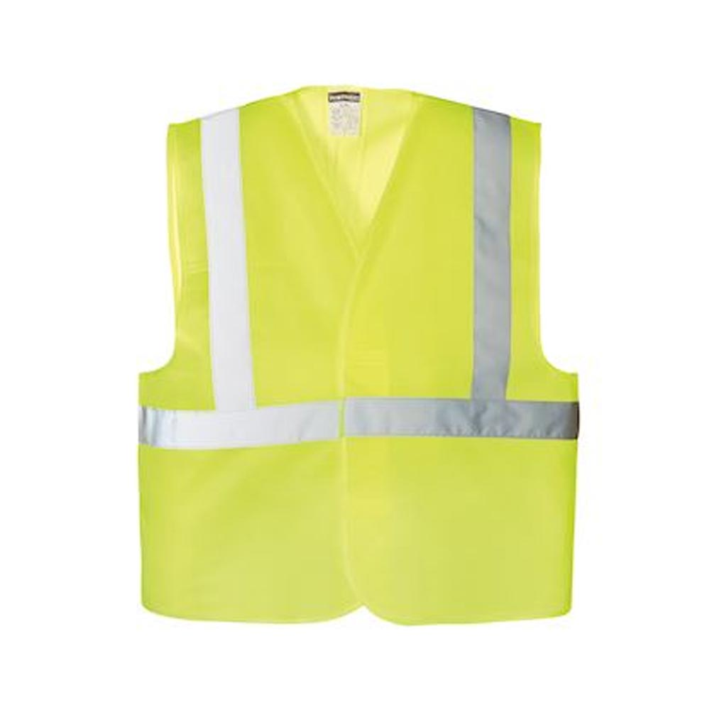 Bizline - BIZ731475 - BIZLINE 731475 - Gilet haute visibilité jaune taille unique