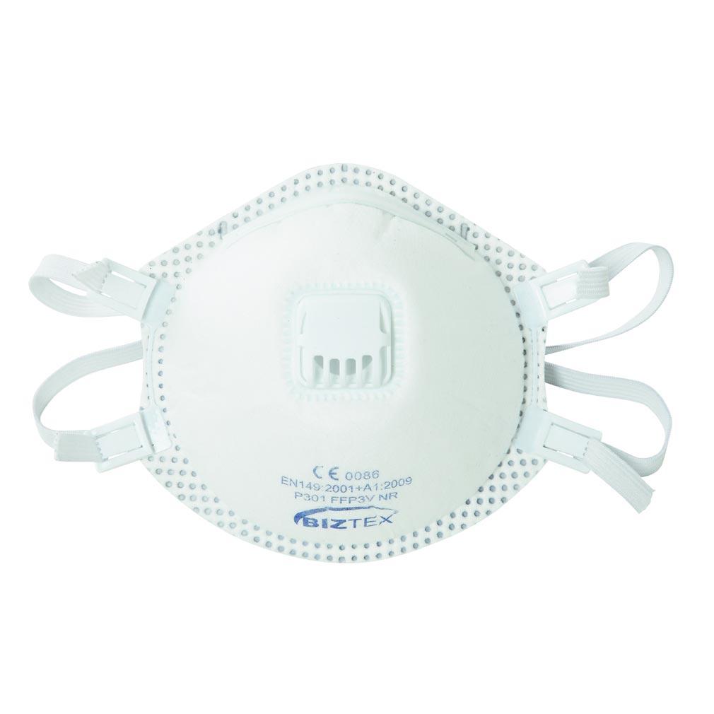 Bizline - BIZ731675 -  Masque respiratoire moulé à valve FFP3 (x 2)