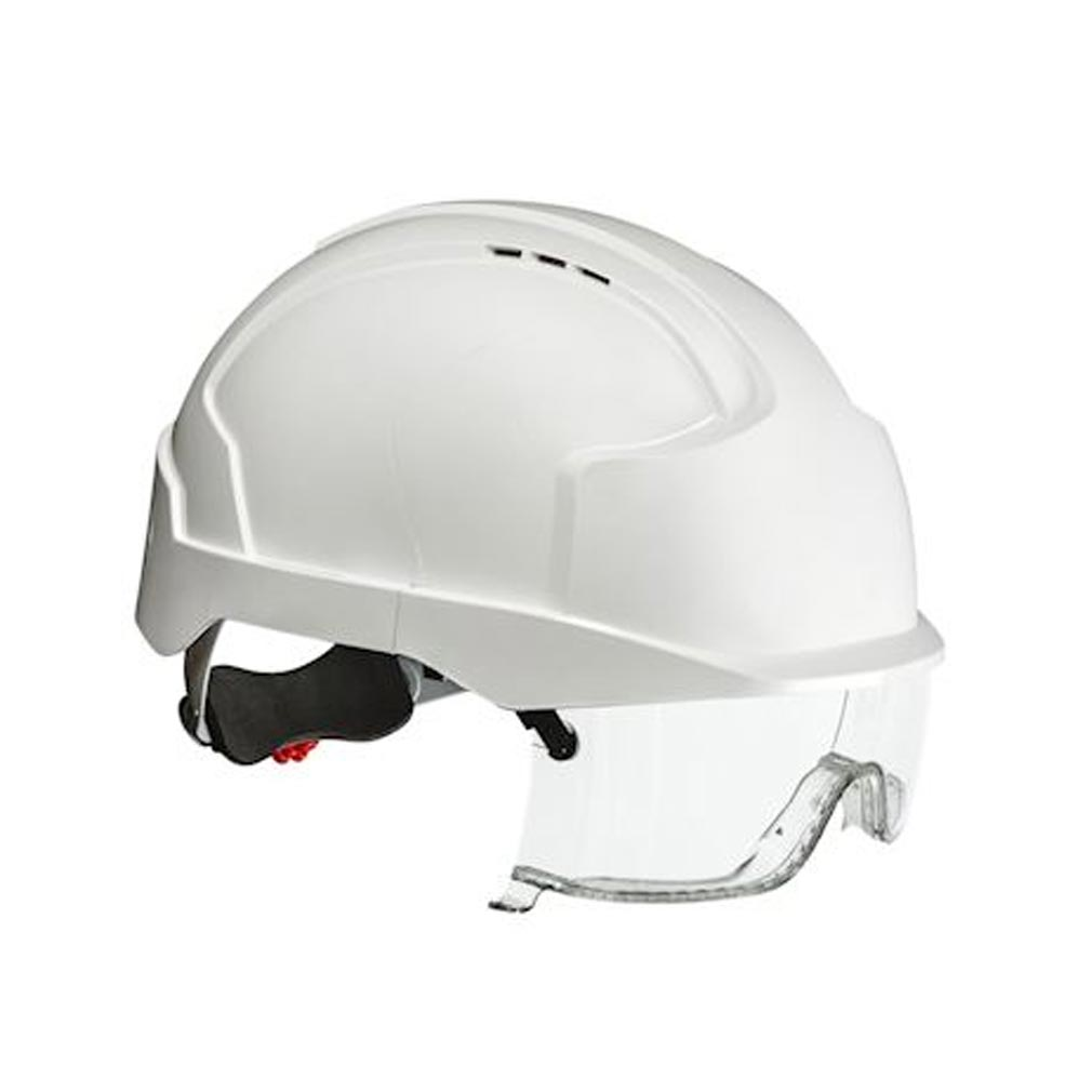 Bizline - BIZ731686 - BIZLINE 731686 - Casque electricien confort vista blanc avec surlunettes