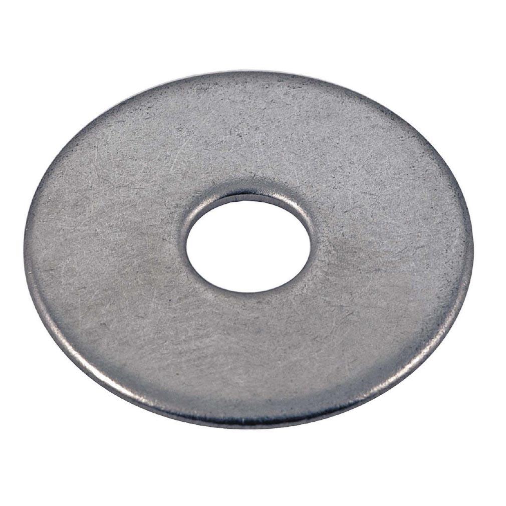 Bizline - BIZ770245 - Rondelle plate extra large inox M6 (x 100)