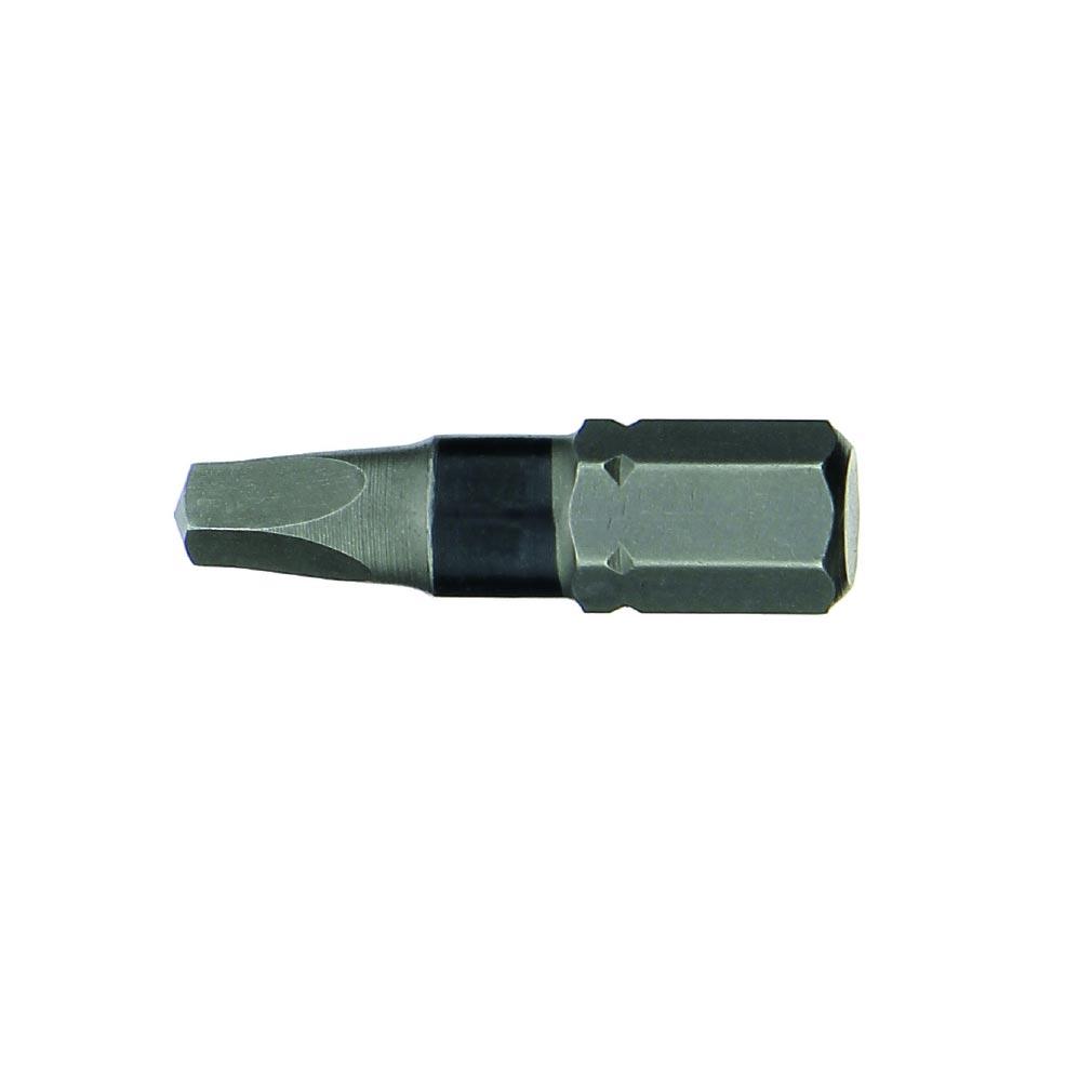 Bizline - BIZ781021 - BIZLINE 781021 - Set de 4 embouts de vissage carrés 25 mm (1xR1, 2xR2, 1xR3)