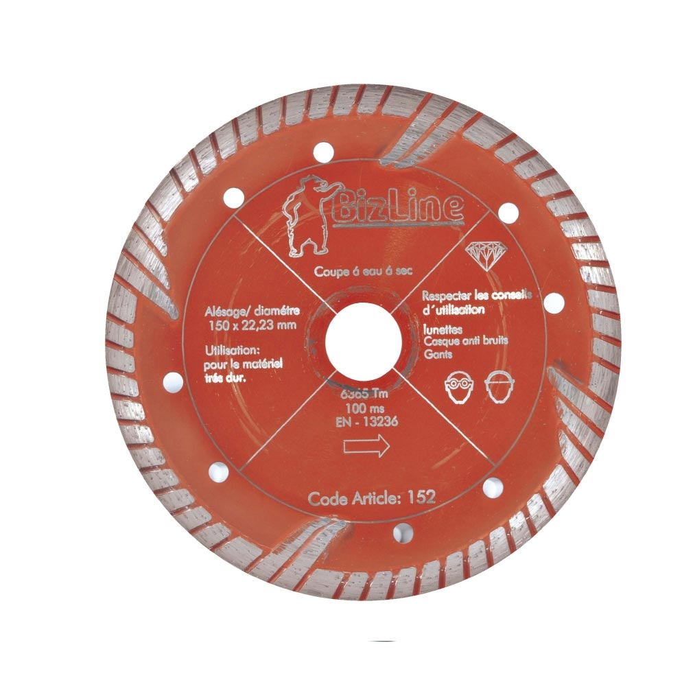 Bizline - BIZ782001 - BIZLINE 782001 -  Disque diamant red Ø 125 mm