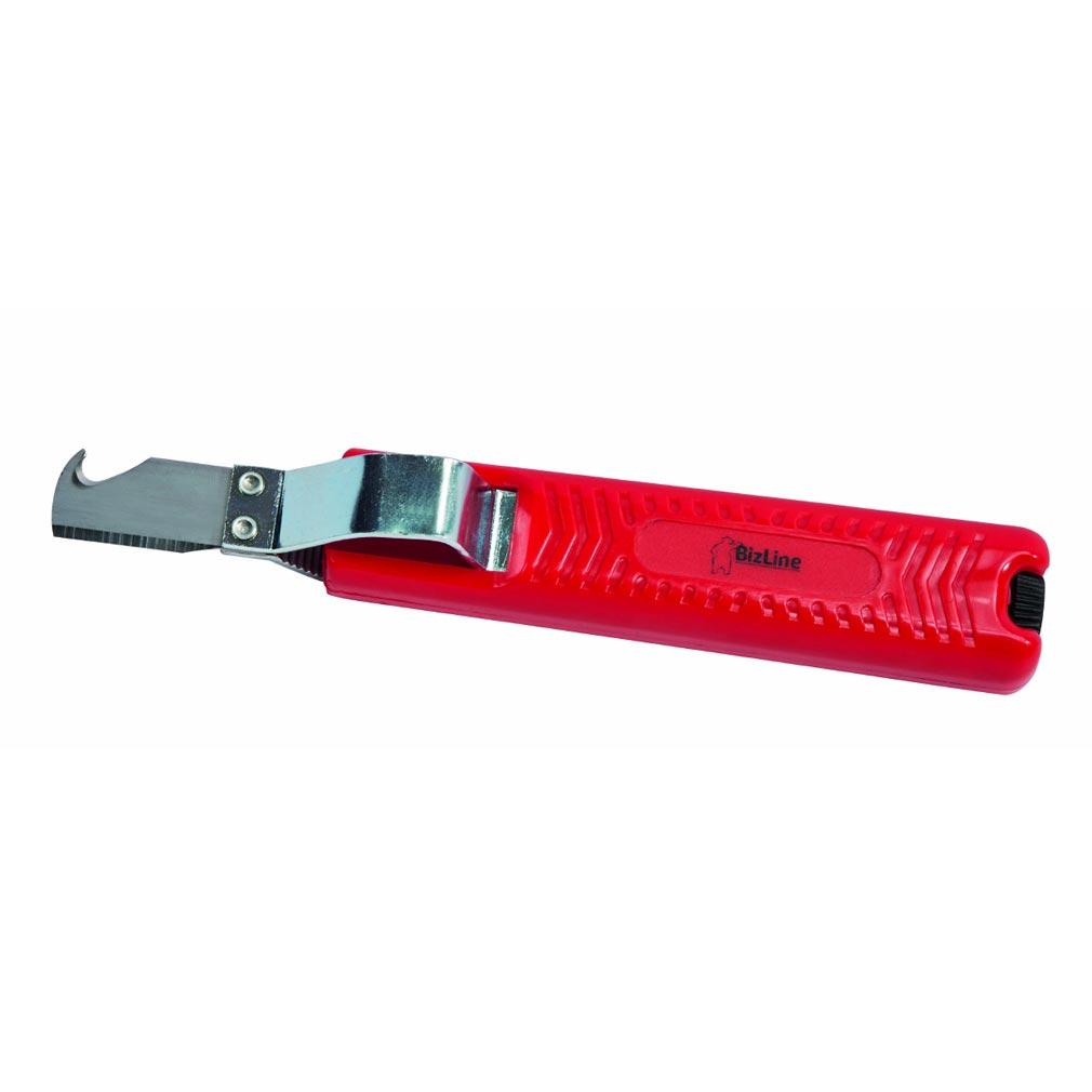 Bizline - BIZ790008 -  Couteau dénude-câbles avec lame crochet section câble Ø 8-28 mm