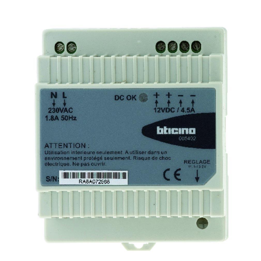 Bticino - TIC005402 - ALIMENTATION 5A 12VCC