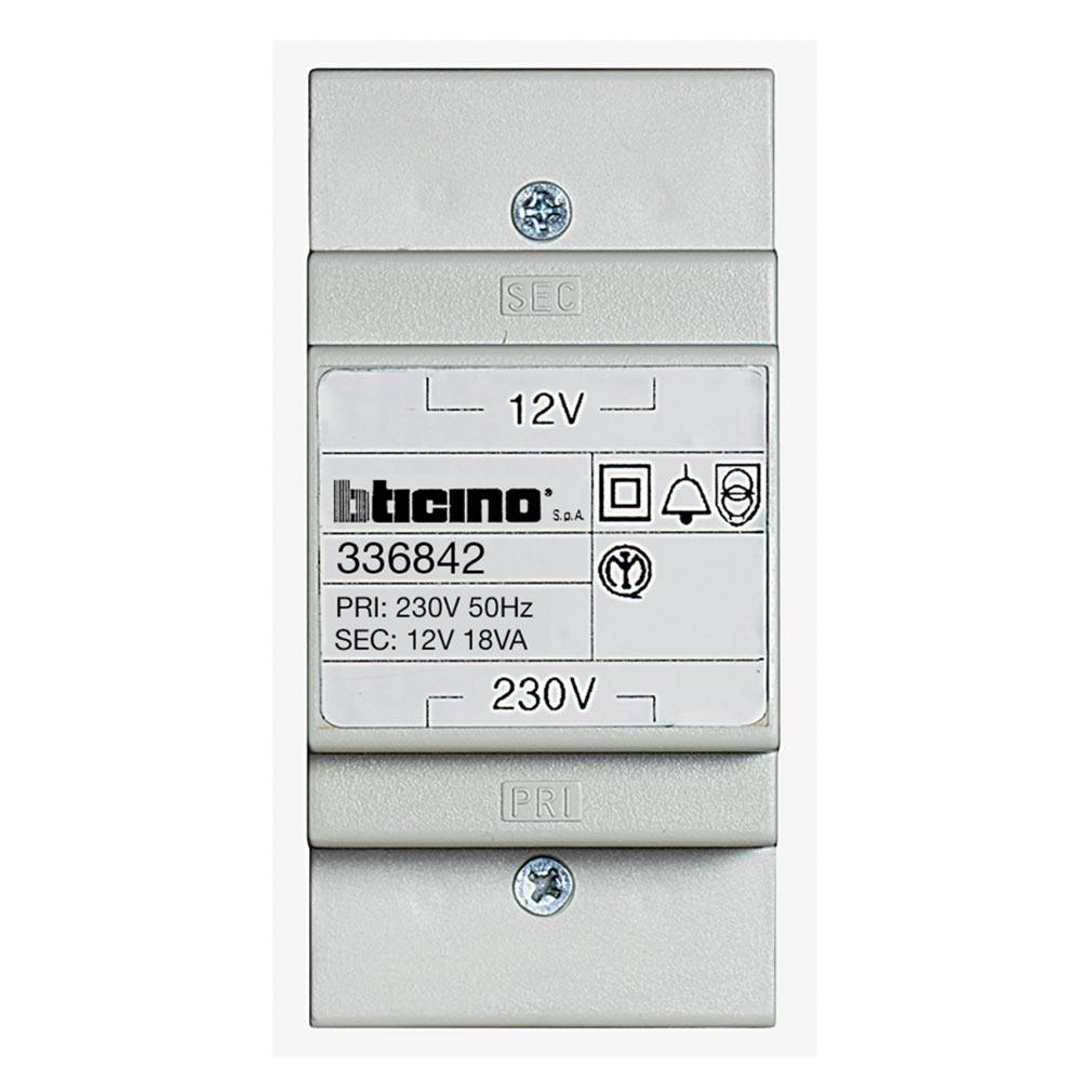 Bticino - TIC336842 - TRANSFO 220 12V 18VA