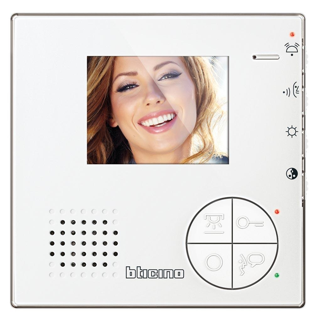 Bticino - TIC344512 -  Poste intérieur vidéo Classe 100 - V12B