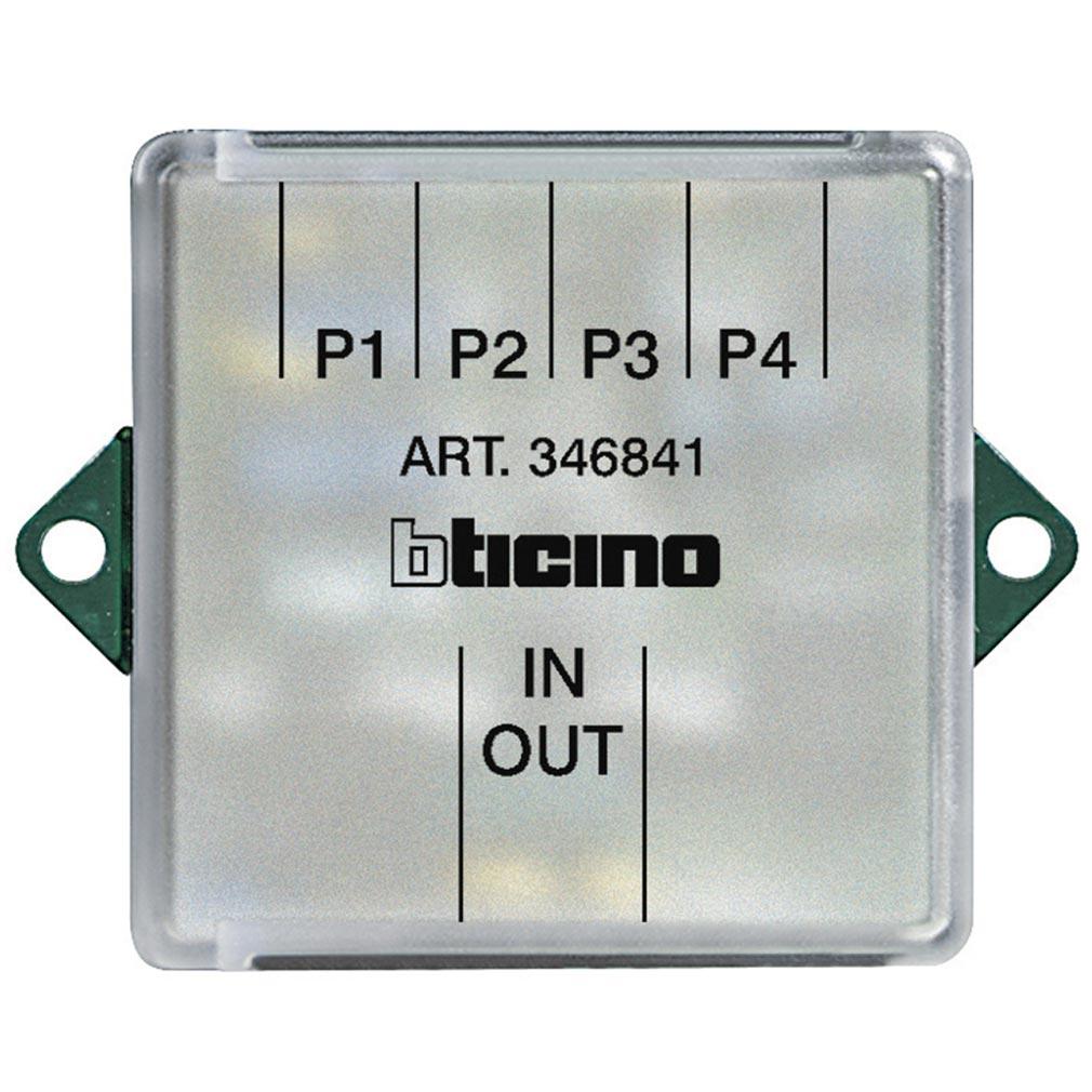 Bticino - TIC346841 -  Dérivateur d'étage pour installation vidéo 2FILS
