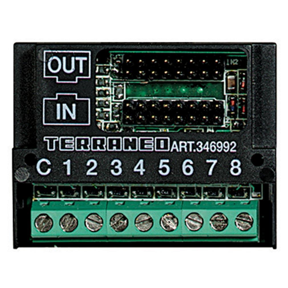 Bticino - TIC346992 - Module d'extension de 1 à 8 appels pour platines Série 100 , Série 200 ou Série 300 audio
