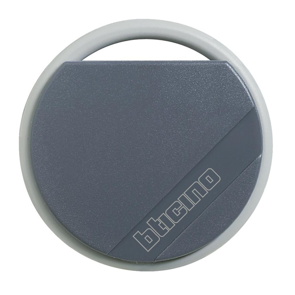Bticino - TIC348200 -  Badge de proximité résidents 13,56MHz couleur noir
