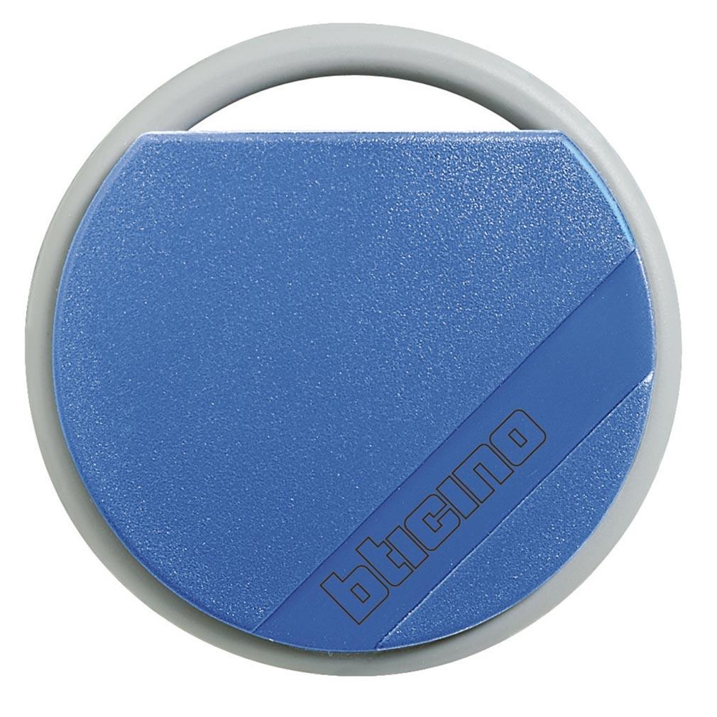Bticino - TIC348203 -  Badge de proximité résidents 13,56MHz couleur bleu
