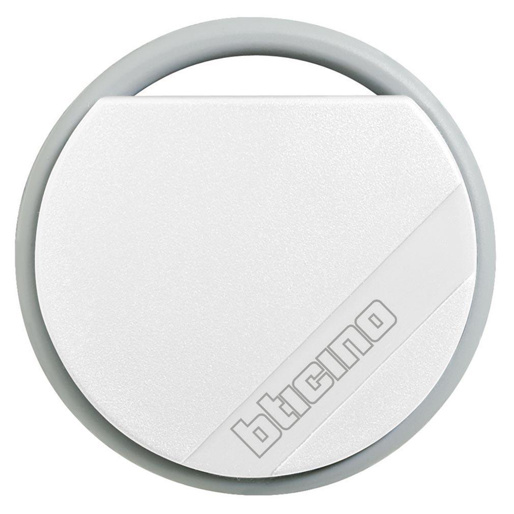 Bticino - TIC348207 -  Badge de proximité résidents 13,56MHz couleur blanche