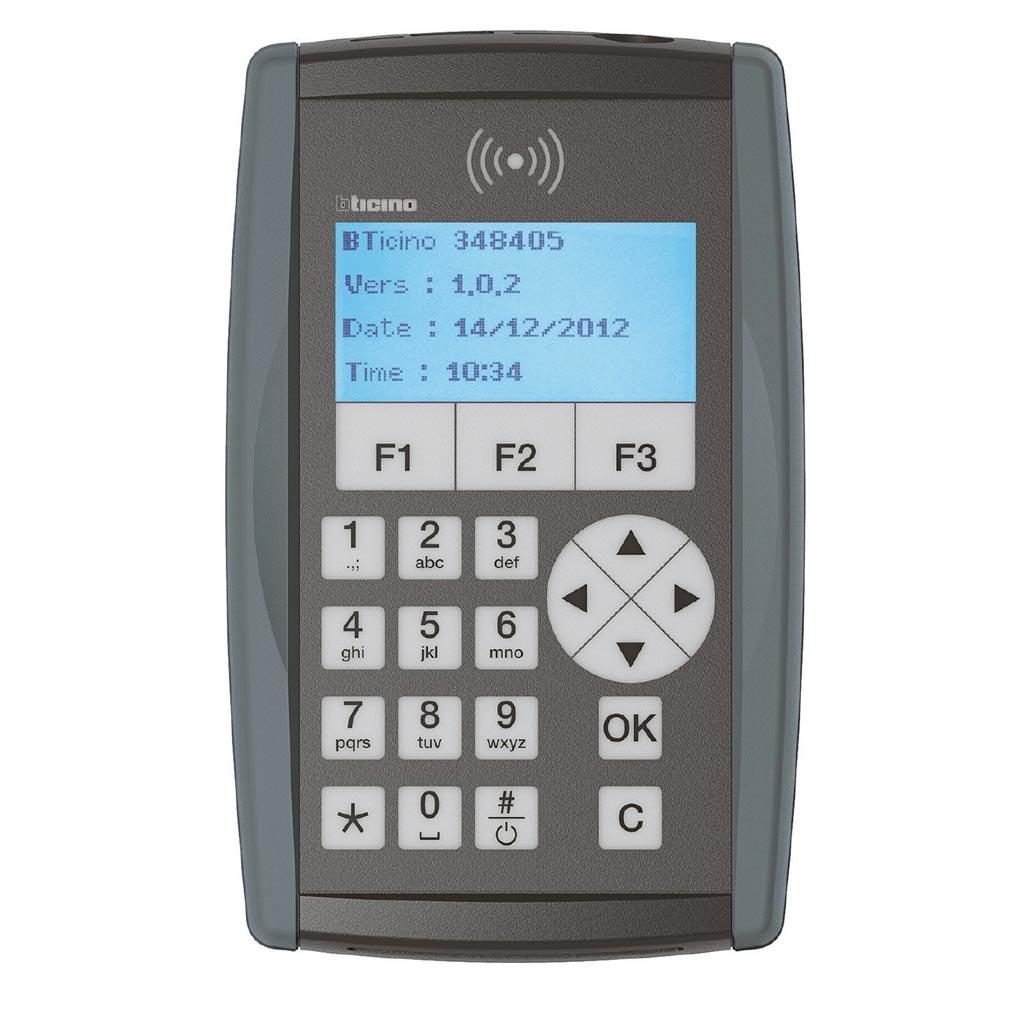 Bticino - TIC348405 -  Programmateur portable pour contrôle d'accès Vigik®