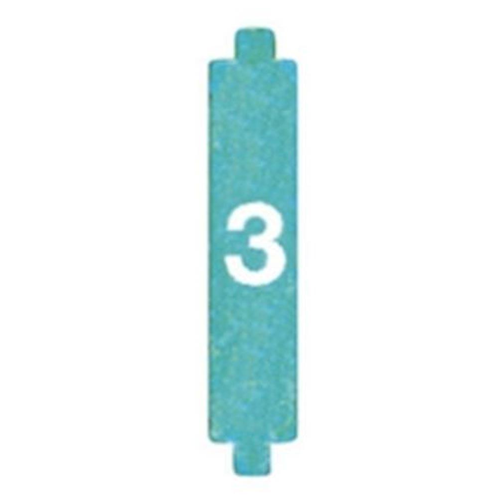 Bticino - TIC35013 - BTICINO 35013 - CAVALIERS (X10) DE CODIFICATION N°3