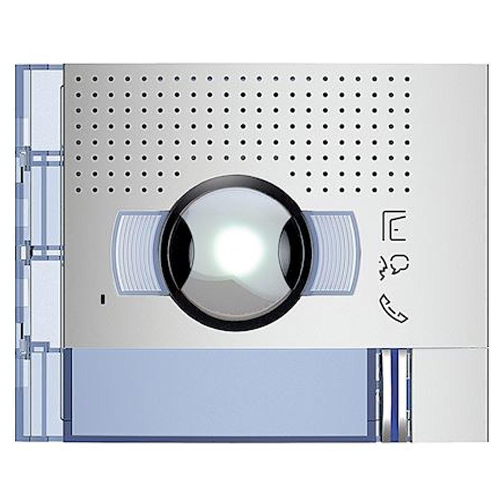 Bticino - TIC351311 - BTICINO 351311 - Façade Sfera New module électronique audio/vidéo 1 appel grand angle Allmetal