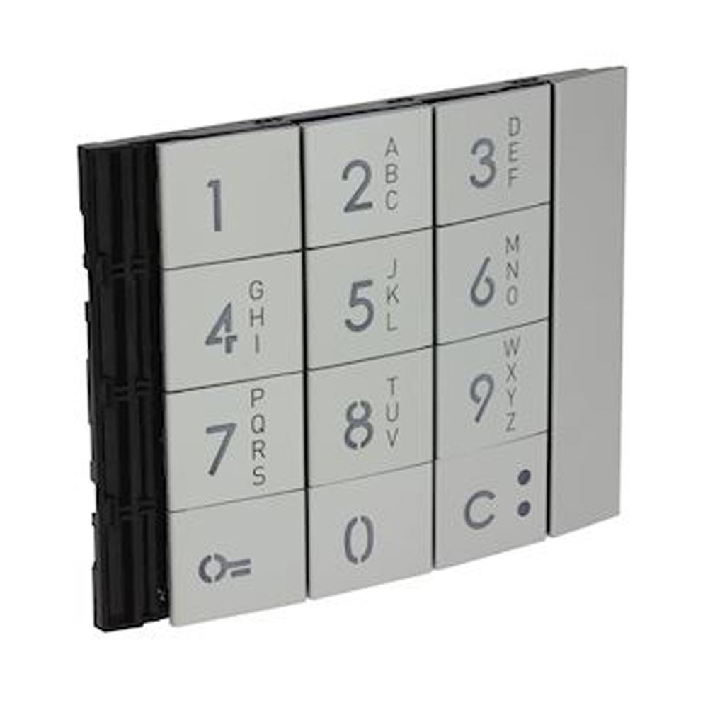 Bticino - TIC353001 - BTICINO 353001 - Façade Sfera New pour module électronique clavier Allmetal