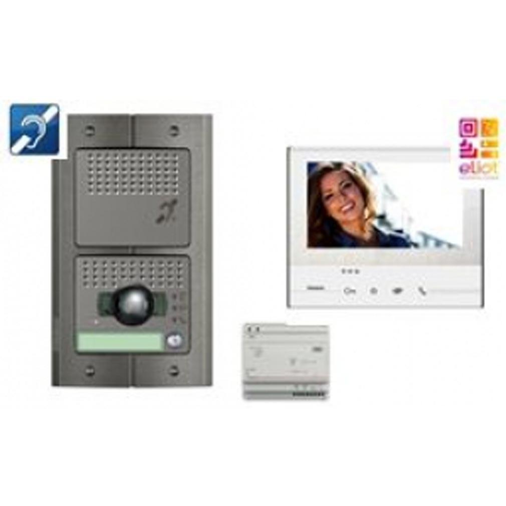 Bticino - TICBT369811 -  Kit portier vidéo connecté pour les ERP avec transfert d'appel sur smartphone