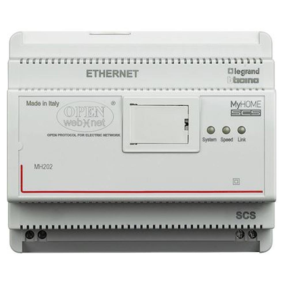 Bticino - TICMH202 - BTICINO MH202 - Programmateur de scénarios MyHOME BUS - 6 modules