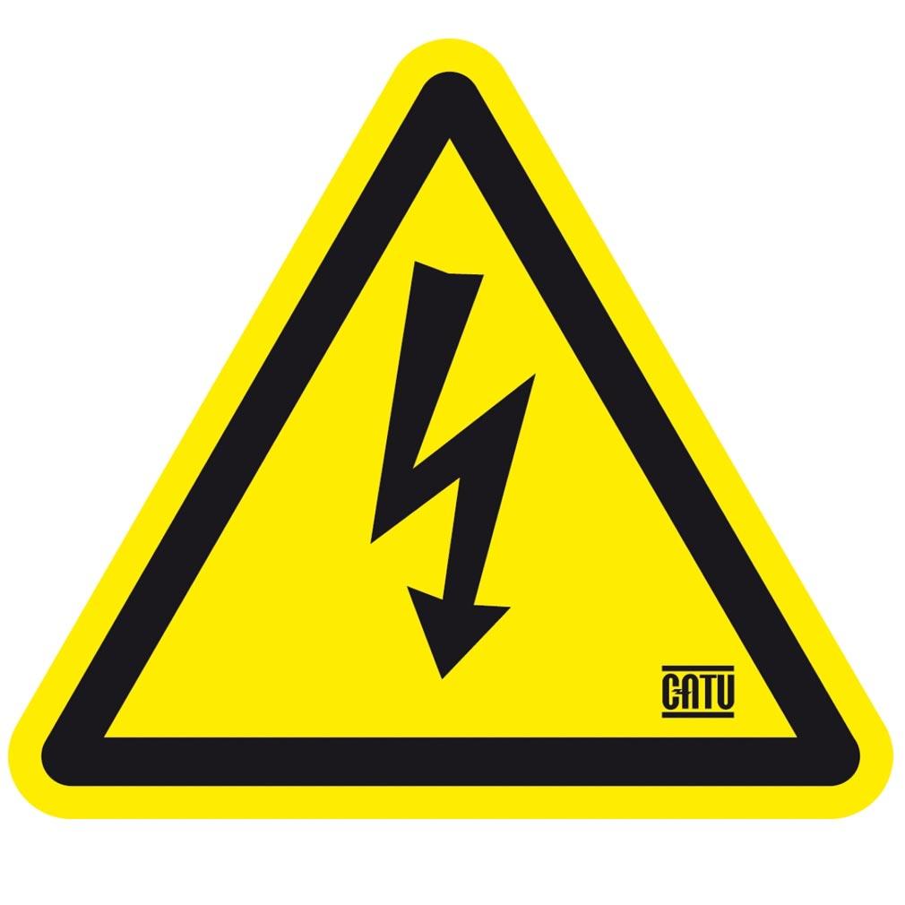 Catu - CATAT49025 - ETIQUETTE 'DANGER ELECTRIQUE' 25MM