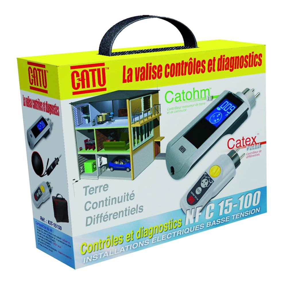 Catu - CATKIT15100 - CATU KIT-15100 - VALISETTE AVEC DT110/DT300