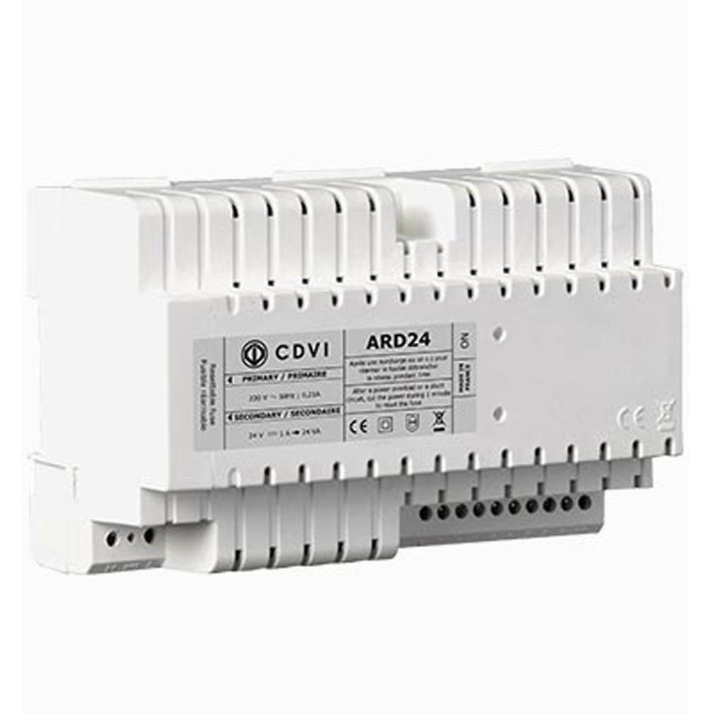Cdvi - CDAF0302000002 - ARD24 - ALIMENTATION 24 V RAIL DIN