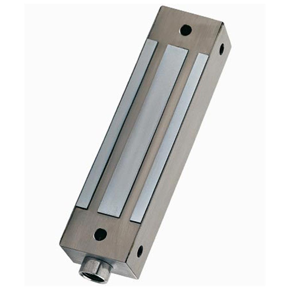 Cdvi - CDAF0515000007 - I400SR - VENTOUSE APPLIQUE INOX 400 KG 12/24 V DC + SIGNAL