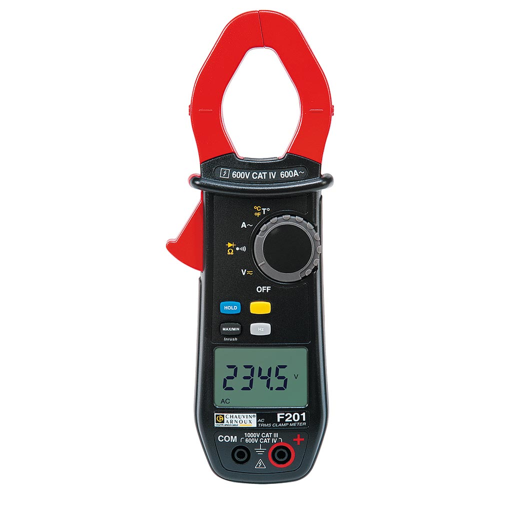 Chauvin a - CHXP01120921 - P01120921 - F201 - Pince multimètre 600 A TRMS AC