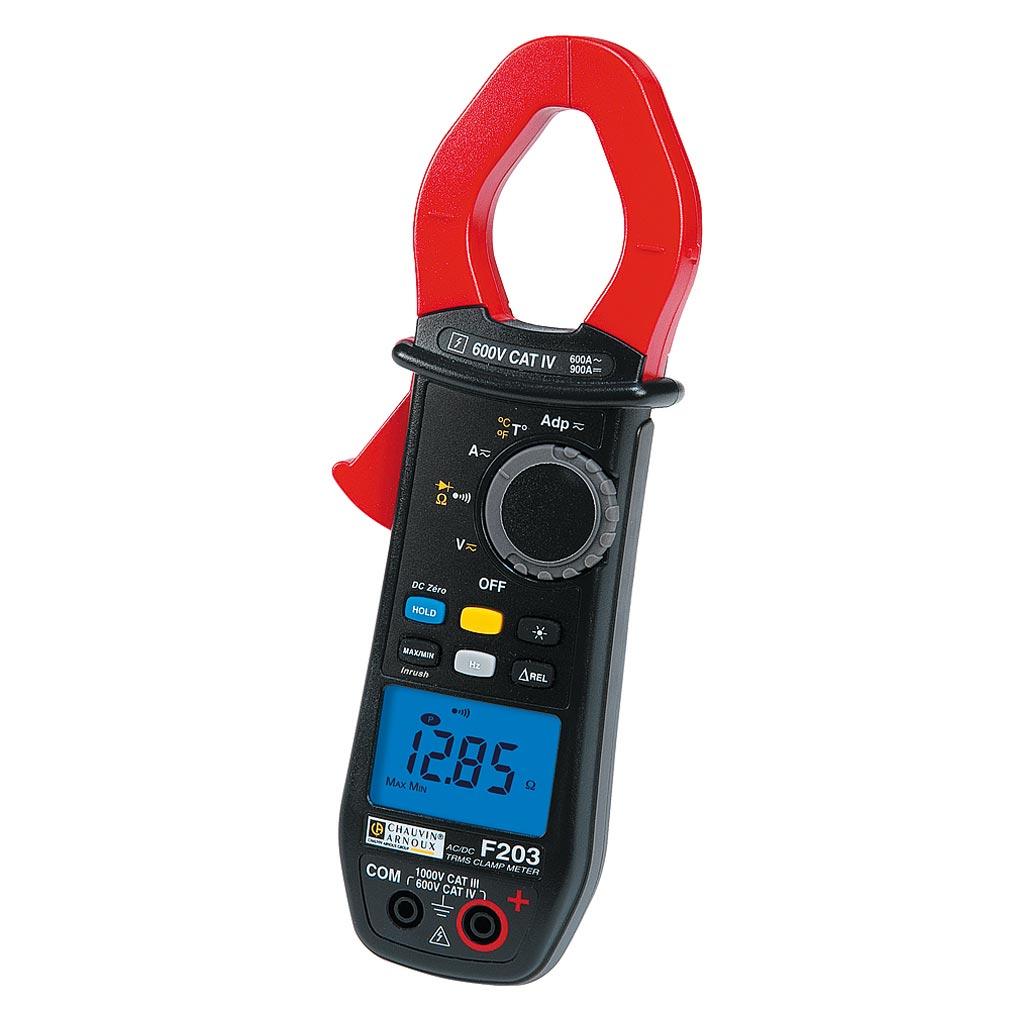 Chauvin a - CHXP01120923 - P01120923 - F203 - Pince multimètre 600A TRMS AC/DC