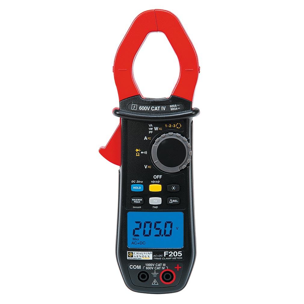 Chauvin a - CHXP01120925 - P01120925 - F205 - Pince multimètre 600A TRMS AC+DC