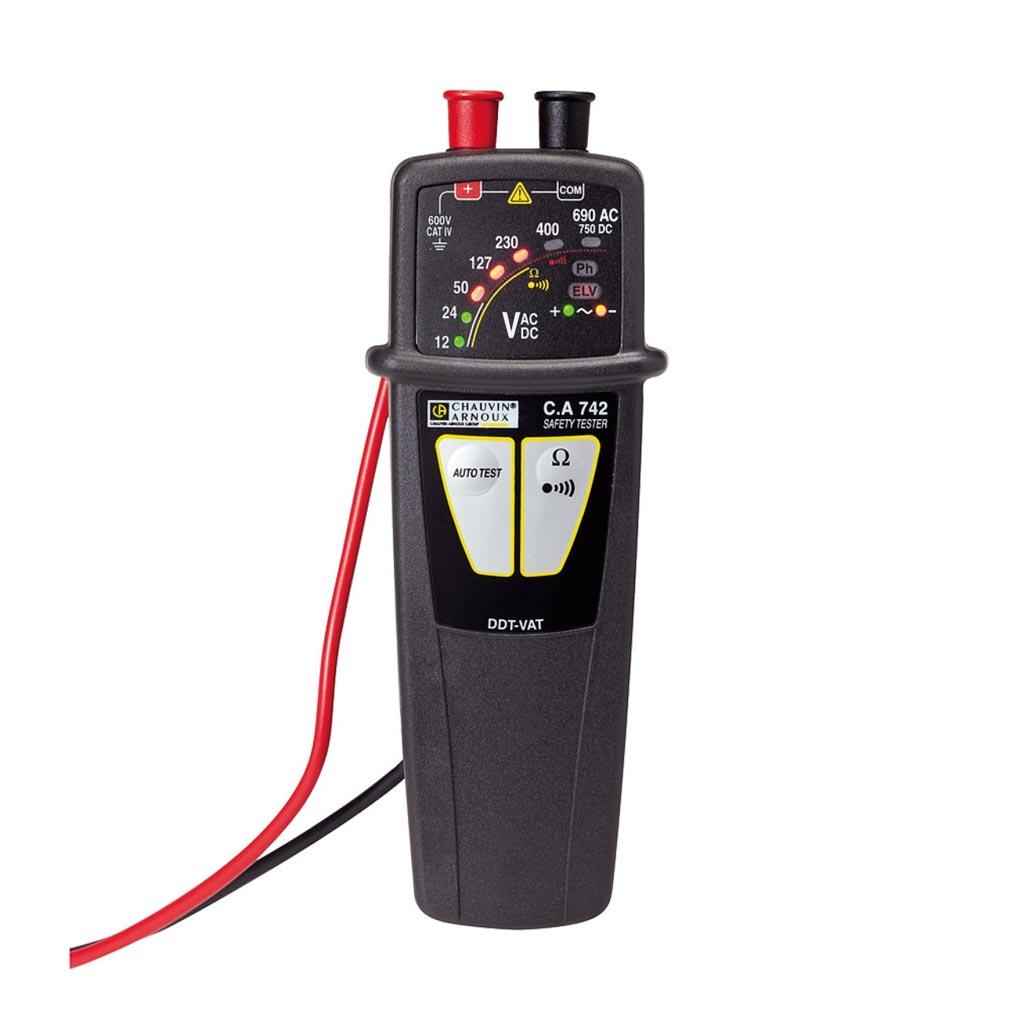 Chauvin a - CHXP01191742Z - P01191742Z - C.A 742 - Détecteur / Vérificateur d'absence de Tension (VAT/DDT)