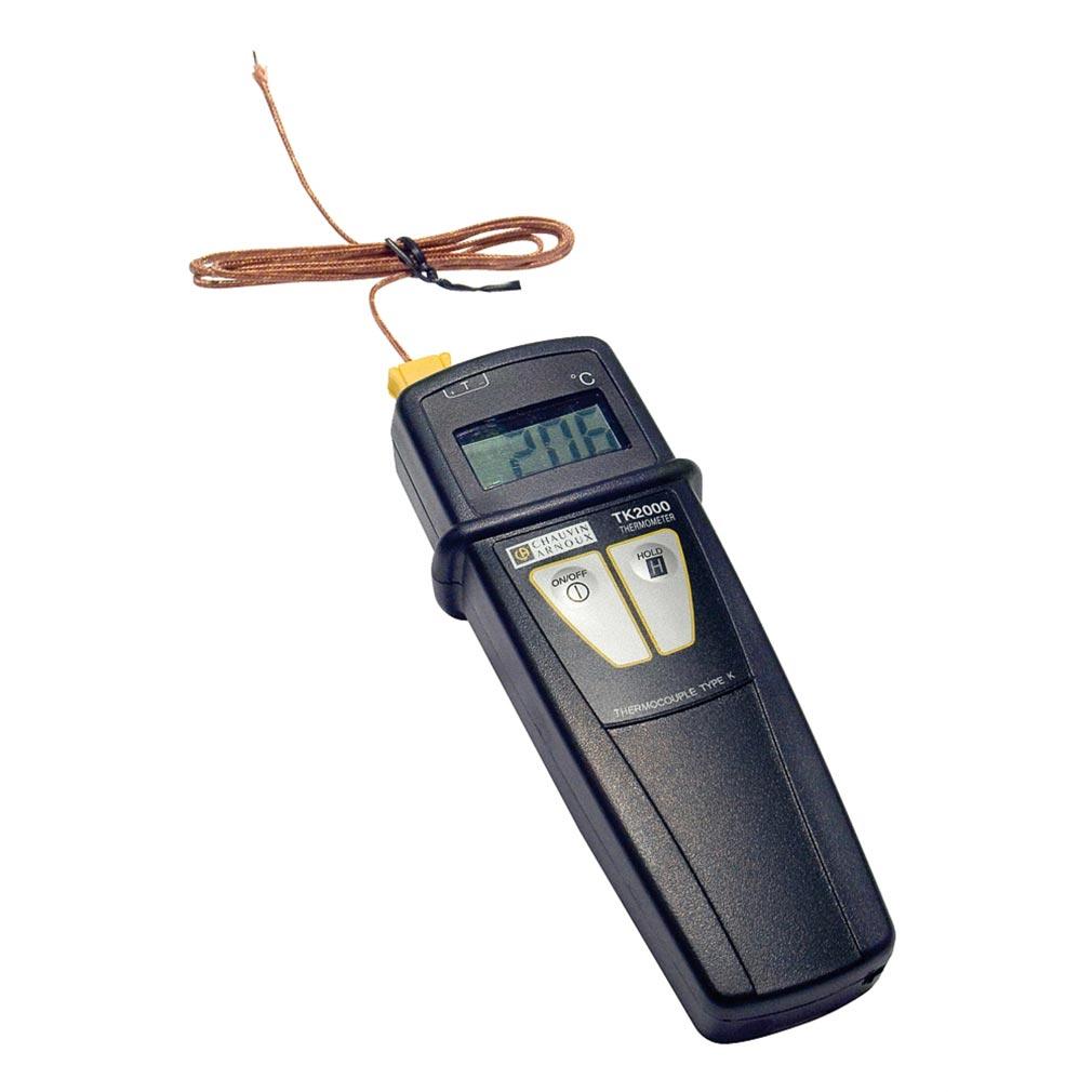 Chauvin a - CHXP01653100 - P01653100 - K 2000 THERMO + 1 COUPLE K - Thermomètre numérique IP65,  1 entrée couple K