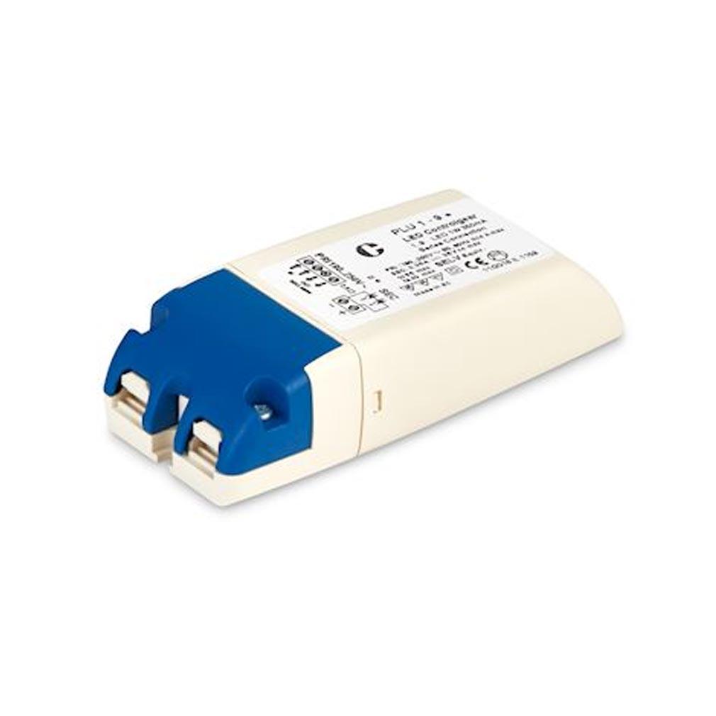 Collingwo - SLHPLU35019 - COLLINGWOOD PLU35019 -  Alimentation LED en 350mA, IP40, 1 à 9 LED de 1W, non dimmable, en courant constant