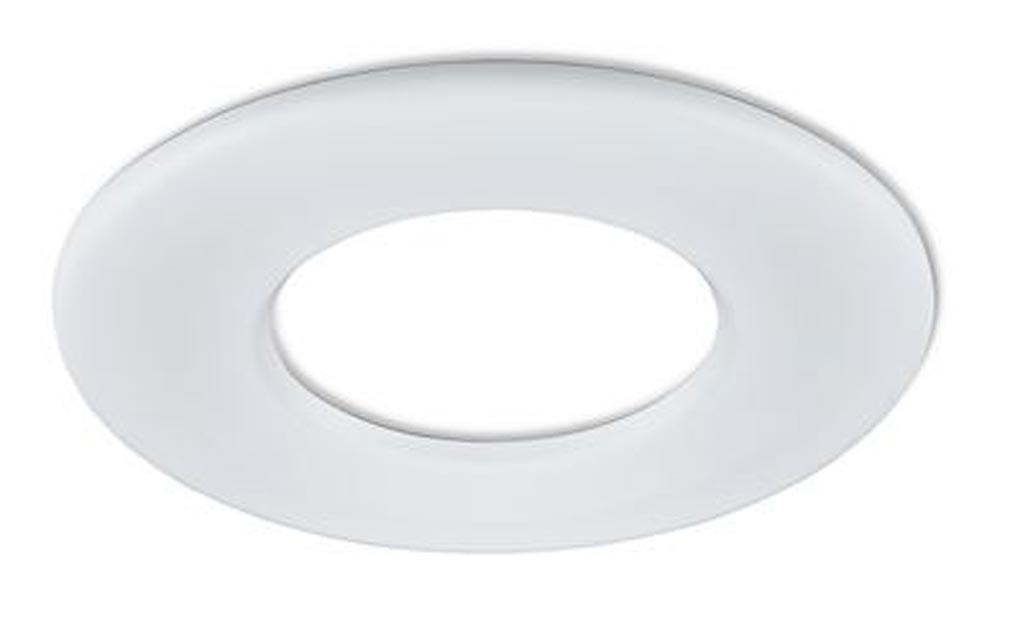 Collingwo - SLHRB359MW - COLLINGWOOD RB359MW - Collerette ronde blanc mat pour les encastrés de plafond LED H2