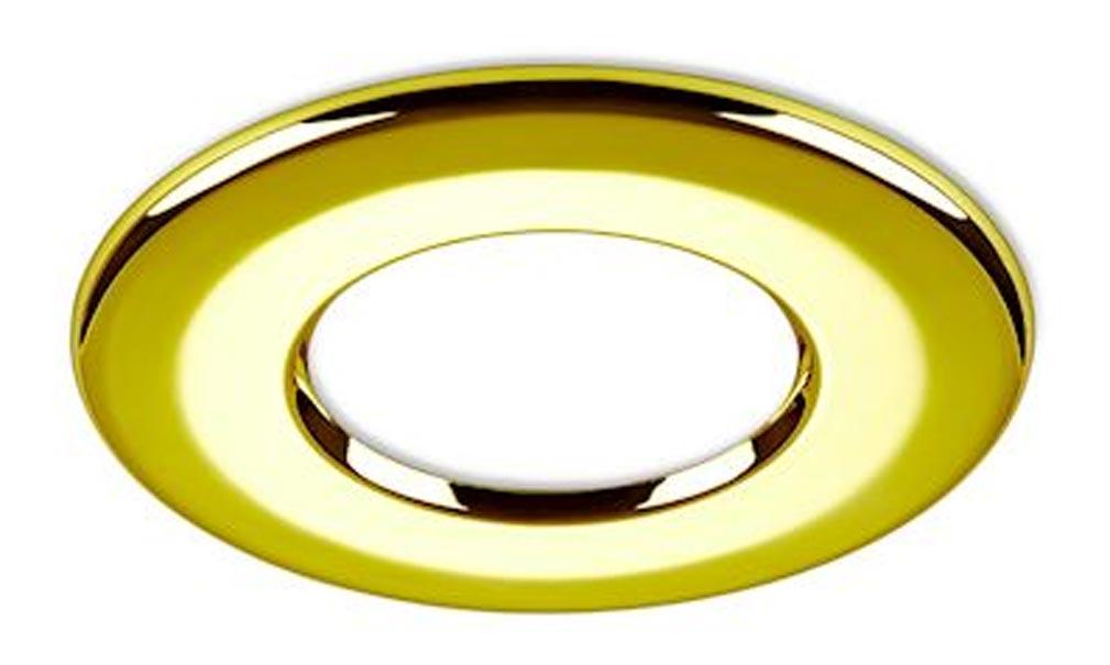 Collingwo - SLHRB359PG - COLLINGWOOD RB359PG - Collerette ronde doree pour les encastrés de plafond LED H2