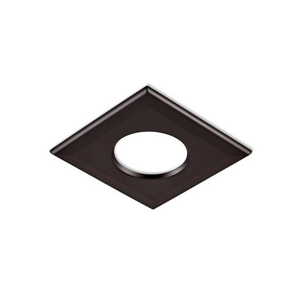 Collingwo - SLHSQB360BLK - COLLINGWOOD SQB360BLK - Collerette carrée noir mat pour les encastrés de plafond LED H2 Pro (550T et 700T)