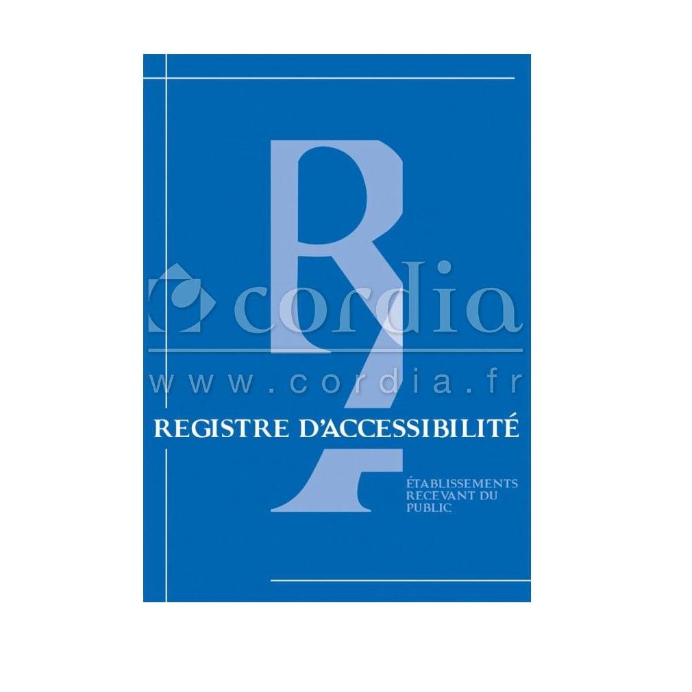 Cordia - KDAIRAC0048 - REGISTRE PUBLIC D'ACCESSIBILITE 48 PAGES